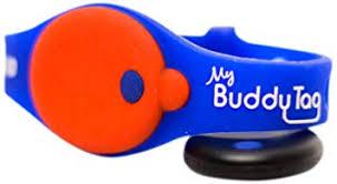 Buddy Tag с силиконовым браслетом