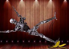 смішні відео з роботами