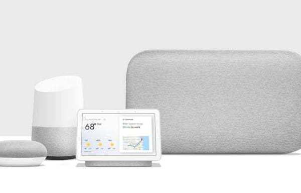 лінійка розумних динаміків google home