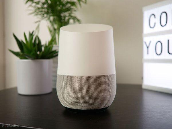 стандартная колонка Google Home