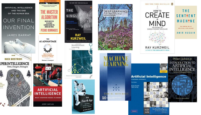 Які найкращі книжки про штучний інтелект (ШІ)?