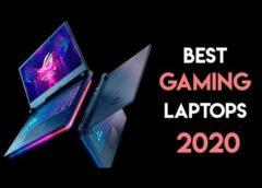 Найкращі ігрові ноутбуки 2020-го року