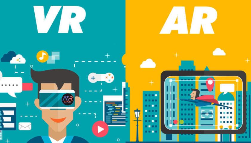Чим відрізняється розширена реальність (AR) від віртуальної реальності (VR)?