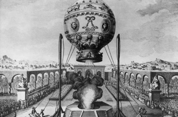 Хто винайшов повітряну кулю?