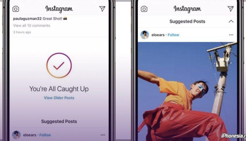 """Instagram хоче, щоб ви продовжували прокручувати ще довше (додає """"Suggested Posts"""")"""