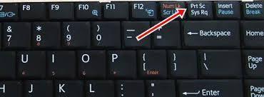 Як зробити скрін на ноутбуці?