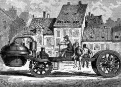 Who invented the first car: 2 German Competitors