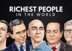 Найбагатша людина світу 2020 року - голова Amazon Джефф Безос