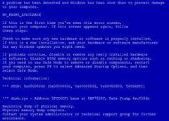 Синий экран смерти: что делать?