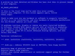 Синій екран смерті: що робити?